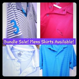 Other - Lots of Men Polo Shirts Available! Buy 2 get 10%of